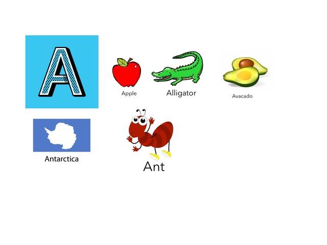 Alphabet Part 1 by Yasou Alekaki