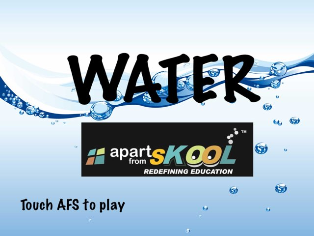 AFS Water by TinyTap creator