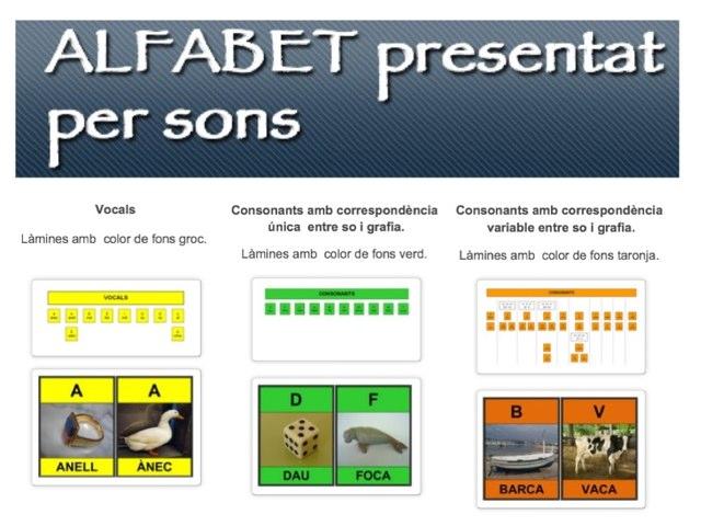 ALFABET presentat per SONS by Lo Canó de Palamós