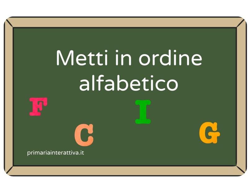 ALFABETO by Primaria Interattiva