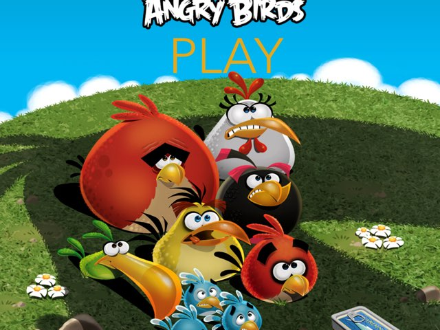 ANGRY BIRDS by Ben  Harvey