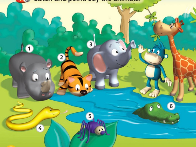 ANIMALS by Ysabel Monteverde