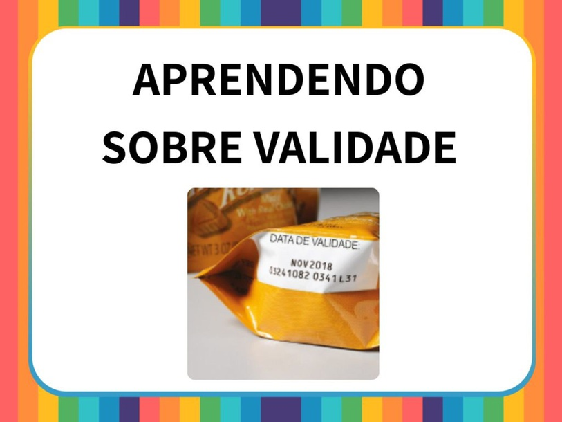 APRENDENDO SOBRE VALIDADE by Tobrincando Ufrj