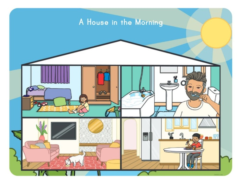 A House in the Morning by Emily Klein
