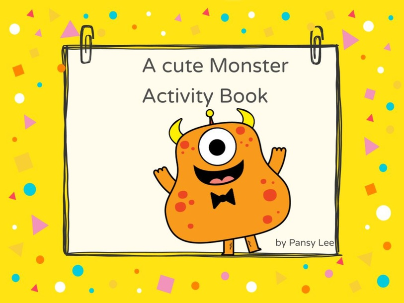 A cute Monster by Pansy