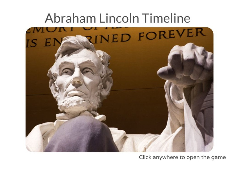 Abraham Lincoln Timeline by Julio Pacheco