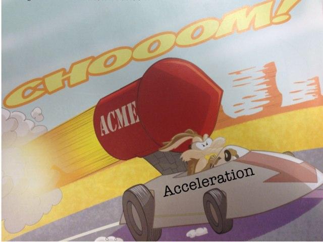 Acceleration by Tia Lindlauf