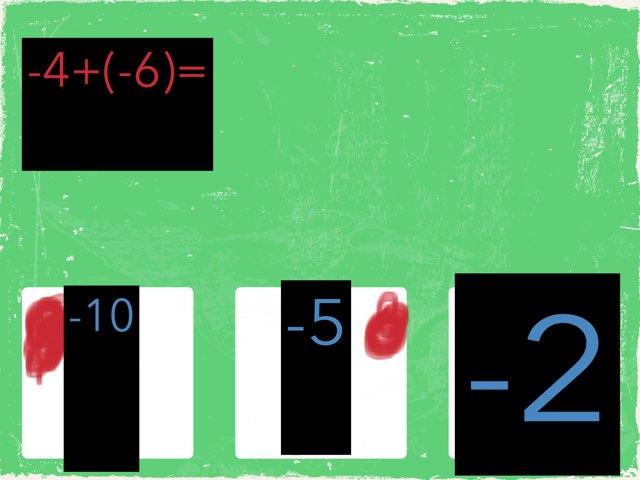 Adding Integers by Rolando zamora