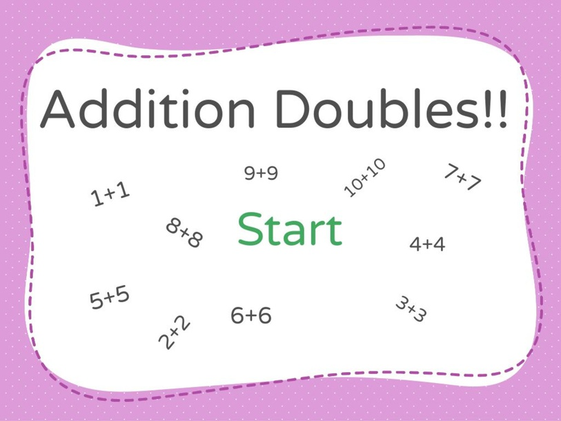 Addition Doubles  by Katherine Schoenhals
