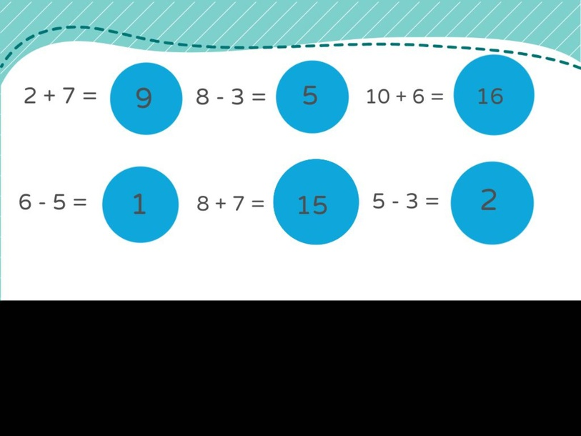 Addition and Subtraction Matching by marie noller