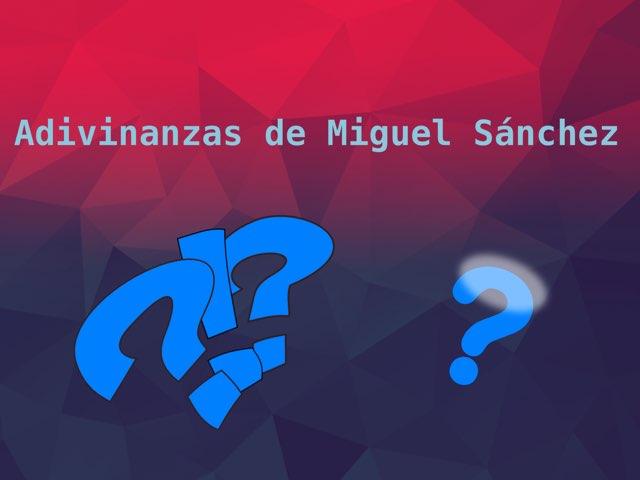 Adivinanzas De Miguel by Diego Campos