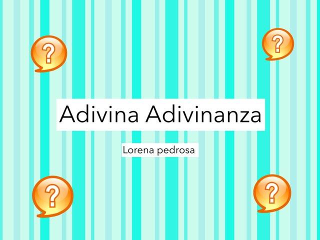Adivinanzas P 4 by Diego Campos
