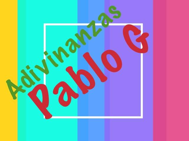 Adivinanzas Pablo G G 4 by Diego Campos