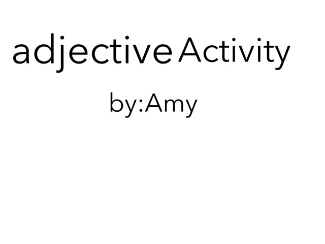 Adjective 15 by Room 207