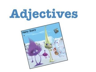 Adjective  by Madonna Nilsen