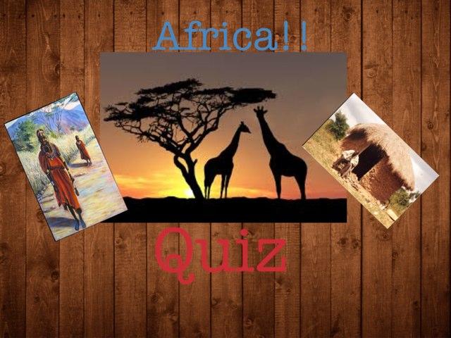 Africa Quiz  by Rula Albadri