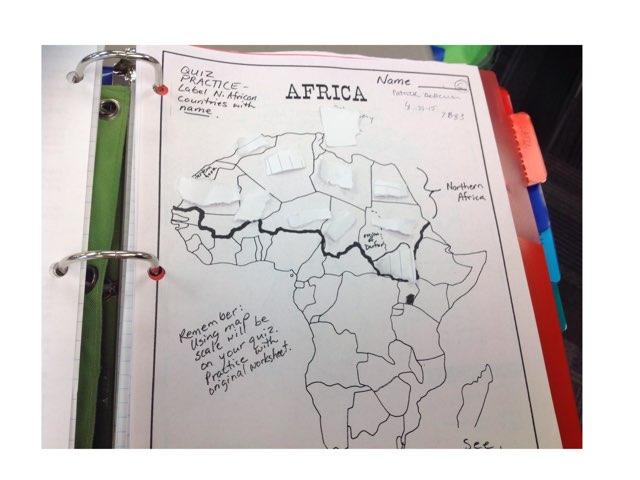 Africa by Pat De