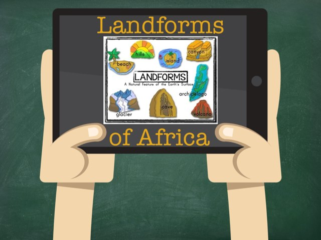 African Landforms by Cait Pringle