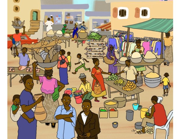 Afrika Klikplaat En Puzzel by Marianne Gerrits