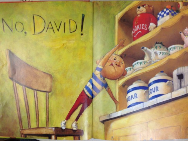 Ak - Close Reading No, David! by Lindsey Roberts-Walstrom