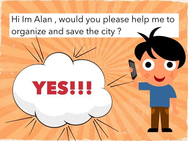 Alan And The City by Pedro José Mena Pérez