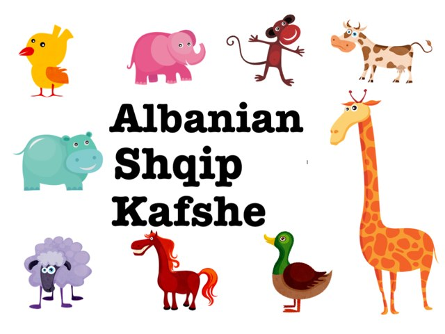 Albanian / Shqip - Kafshe by Emma Ok