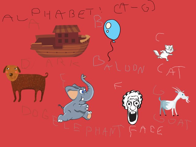 Albhabet! (a-g) by Valeria Ferradas