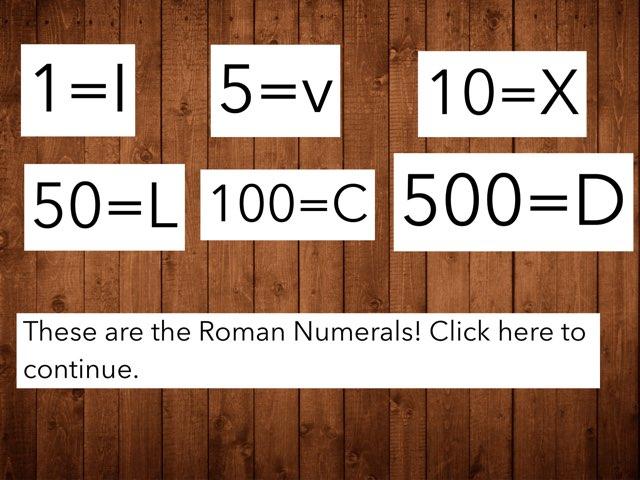 Alex and Benitez Numerals Quiz by Mr Matthews