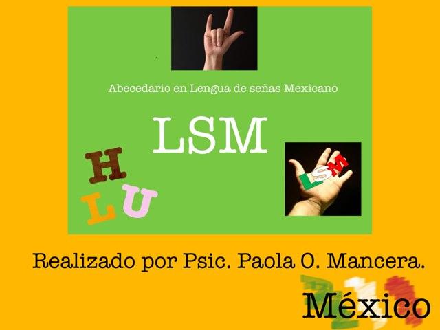 Alfabeto En LSM by Pao Mancera
