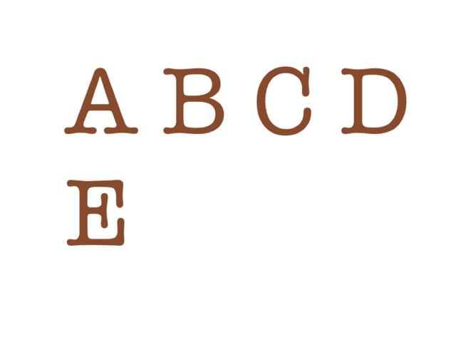 Alfabeto by Giuseppe Lucchese