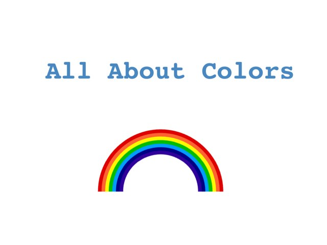 All About Colors by Karrie Frank
