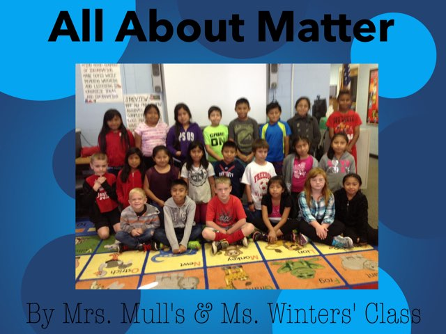 All About Matter by Mull & Winters by Christine Snow