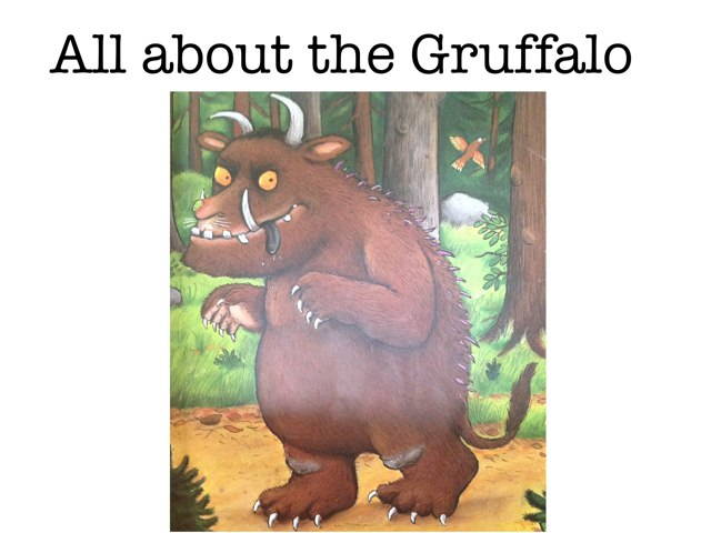 All About The Gruffalo by David Andrews