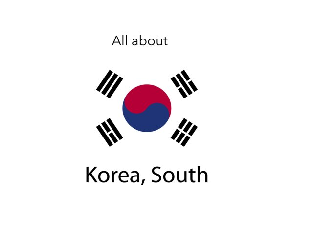 All About.......north Korea by Xavia smith