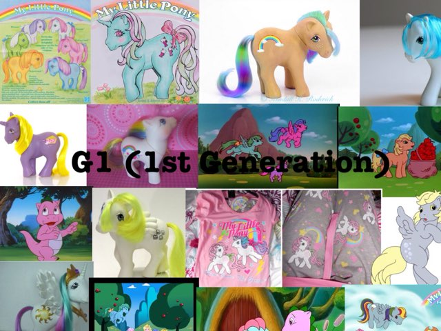 All Generations Of MLP by M2 Taylor