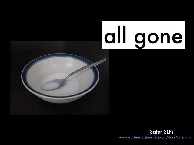 All Gone: Sister SLPs by Becky Price
