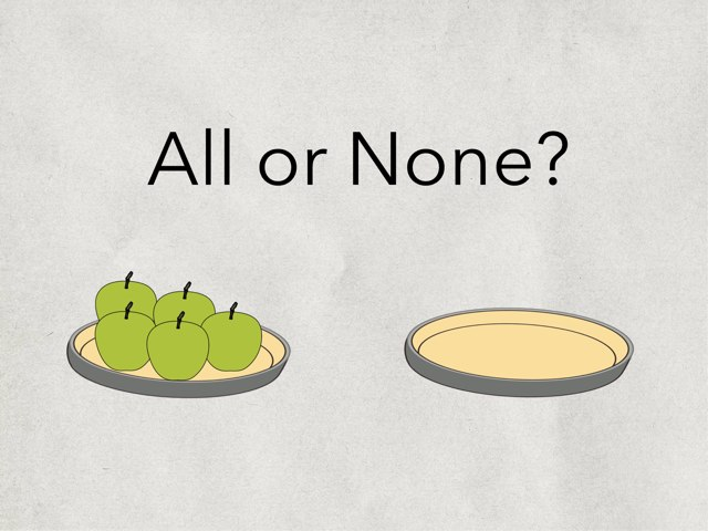 All Or None? by Karen Souter