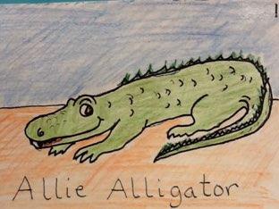 Allie Alligator by Elliott Kern