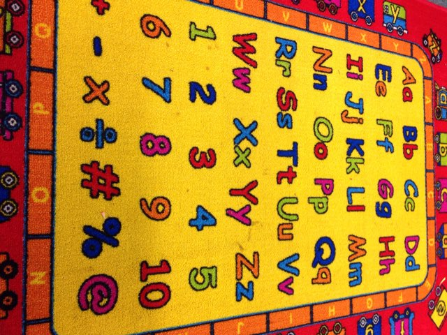 Alphabet Mat by Nicole Pestell
