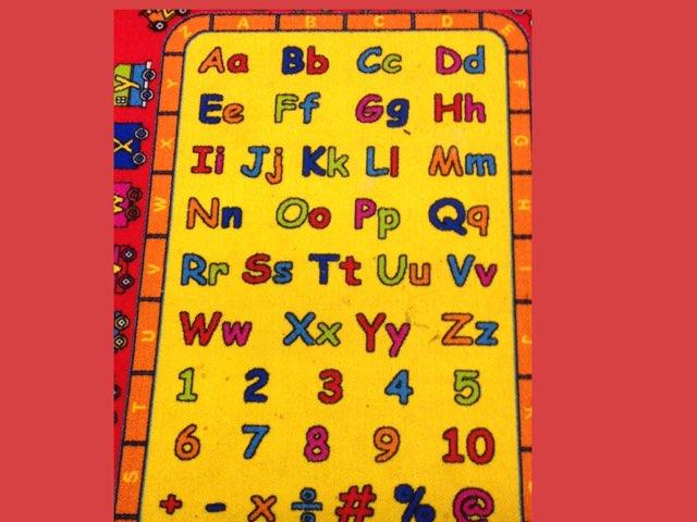 Alphabet by Nicole Pestell