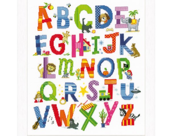 Alphabet by Barbi Bujtas