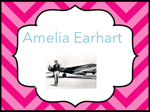 Amelia Earhart by Cristina Chesser