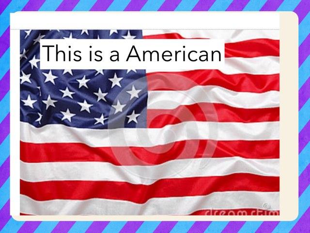 American Flag by Hulstrom 1st Grade