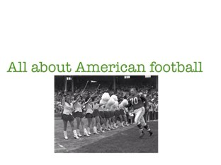 American Football by Arjun Sethi