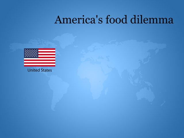 America's food dilemma. A2 by Diana Vornicu-Eger