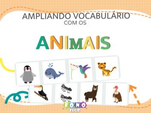 Ampliando o vocabulário com os animais by Ana Carolina Povoa