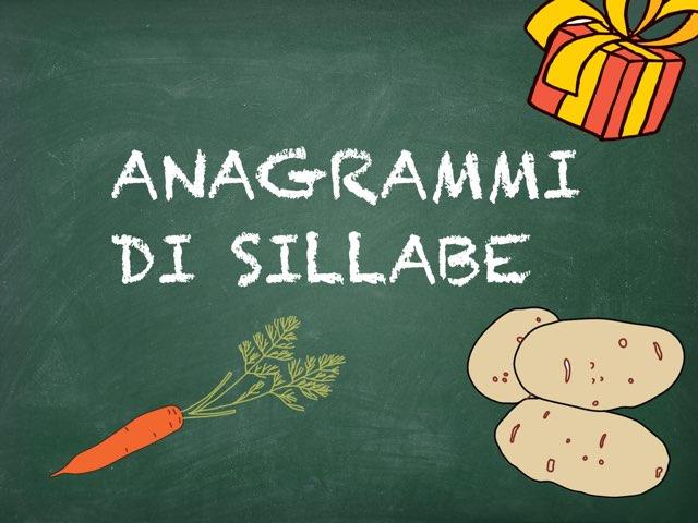 Anagrammi di sillabe by Simonetta Silimbani