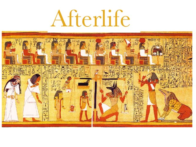 Ancient Egypt Afterlife By Ella  by St Cecilias