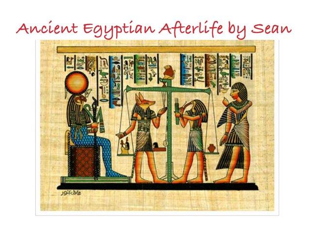 Ancientan Egypt by St Cecilias