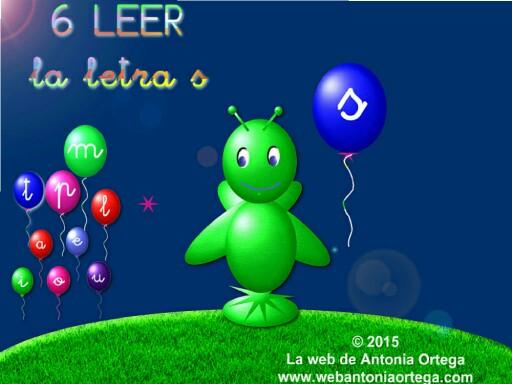 6 LEER S by Antonia Ortega López